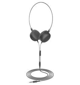 SO Furo | Macaron headphone Wired on ear - Black | FT-12729
