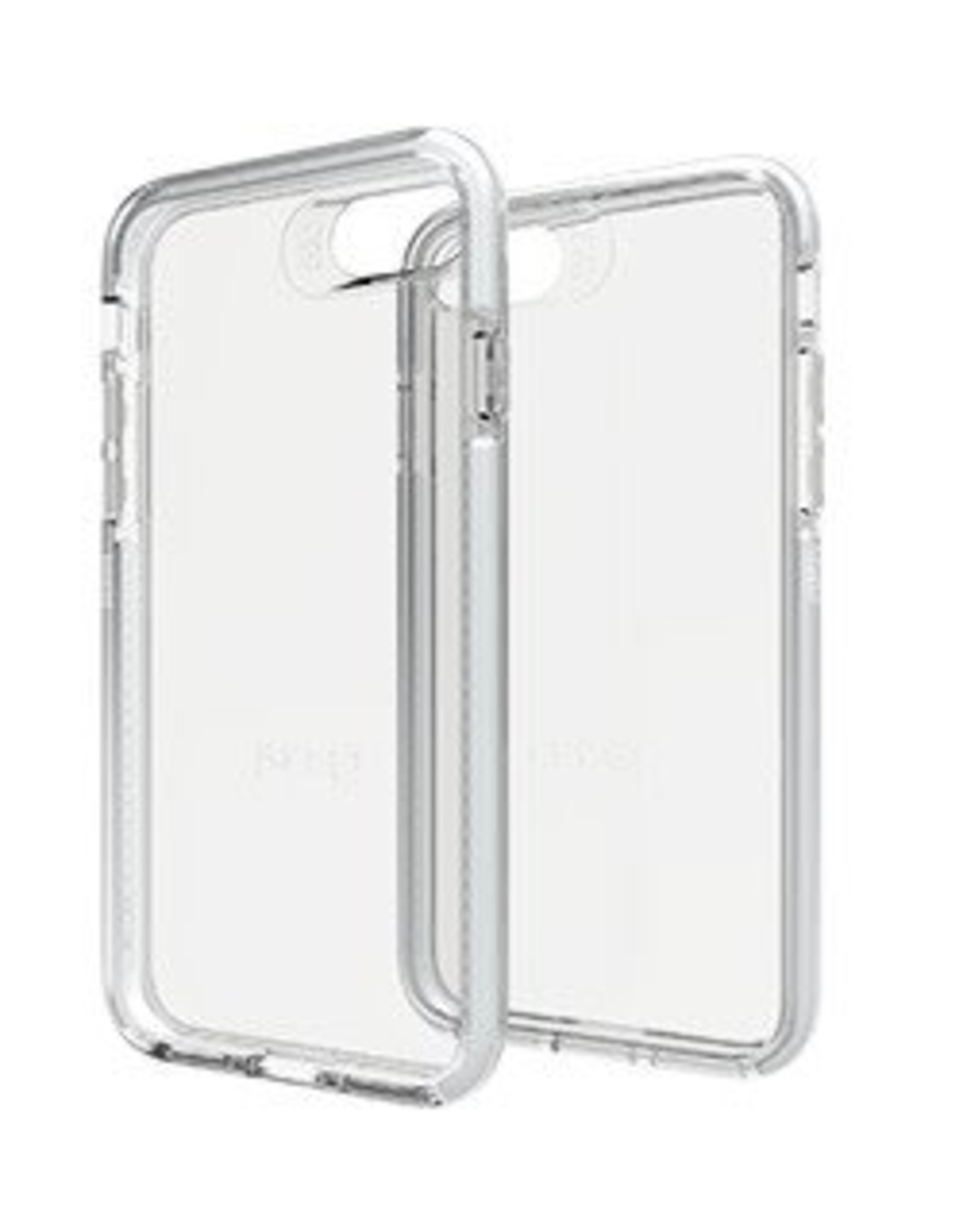 GEAR4 GEAR4 | iPhone 8/7/6S/6 D30 Clear/Silver Piccadilly | 15-00944