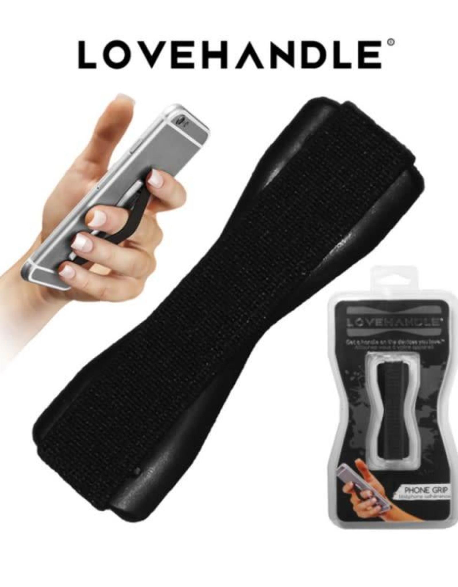 /// LoveHandle   Black Phone Grip   15-01421