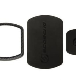 Scosche Scosche | MagicMOUNT Pro Kit Trim Ring + Replacement Plates - Carbon Fibre | SC-MPKCFI