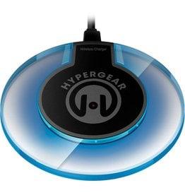 Hypergear HyperGear   Black/Grey UFO Wireless Charging Pad   15-02566