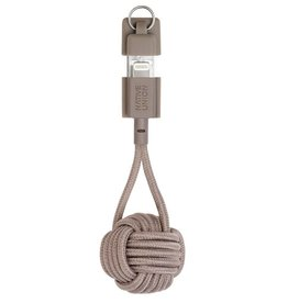 Native Union Native Union | Key Cable Lightning Taupe | KEY-KV-L-TAU