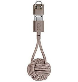 Native Union Native Union | Key Cable Type A-C - Taupe | KEY-KV-AC-TAU