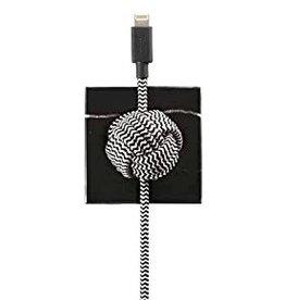 Native Union Native Union | Night Cable Lightning Luxury Black | NC-L-LUX.T-BLK