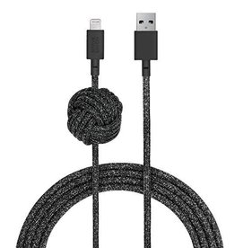Native Union Native Union | Night Cable Lightning - Cosmos Black | NCABLE-KV-L-CS-BLK