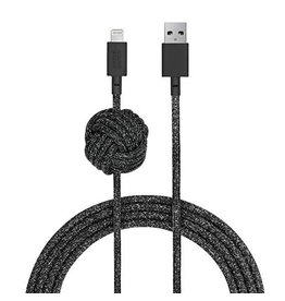 Native Union Native Union | Night Cable Lightning Connector Cosmos Black | NCABLE-KV-L-CS-BLK