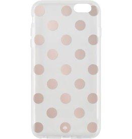 KSNY (Kate Spade New York) /// Kate Spade New York | iPhone 6/6s+ Rose Gold/Clear | KSIPH-015-LPRGCL