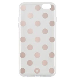 KSNY (Kate Spade New York) /// Kate Spade New York | iPhone 6/6s+ Rose Gold/Clear | KSIPH-015-LPRGCL