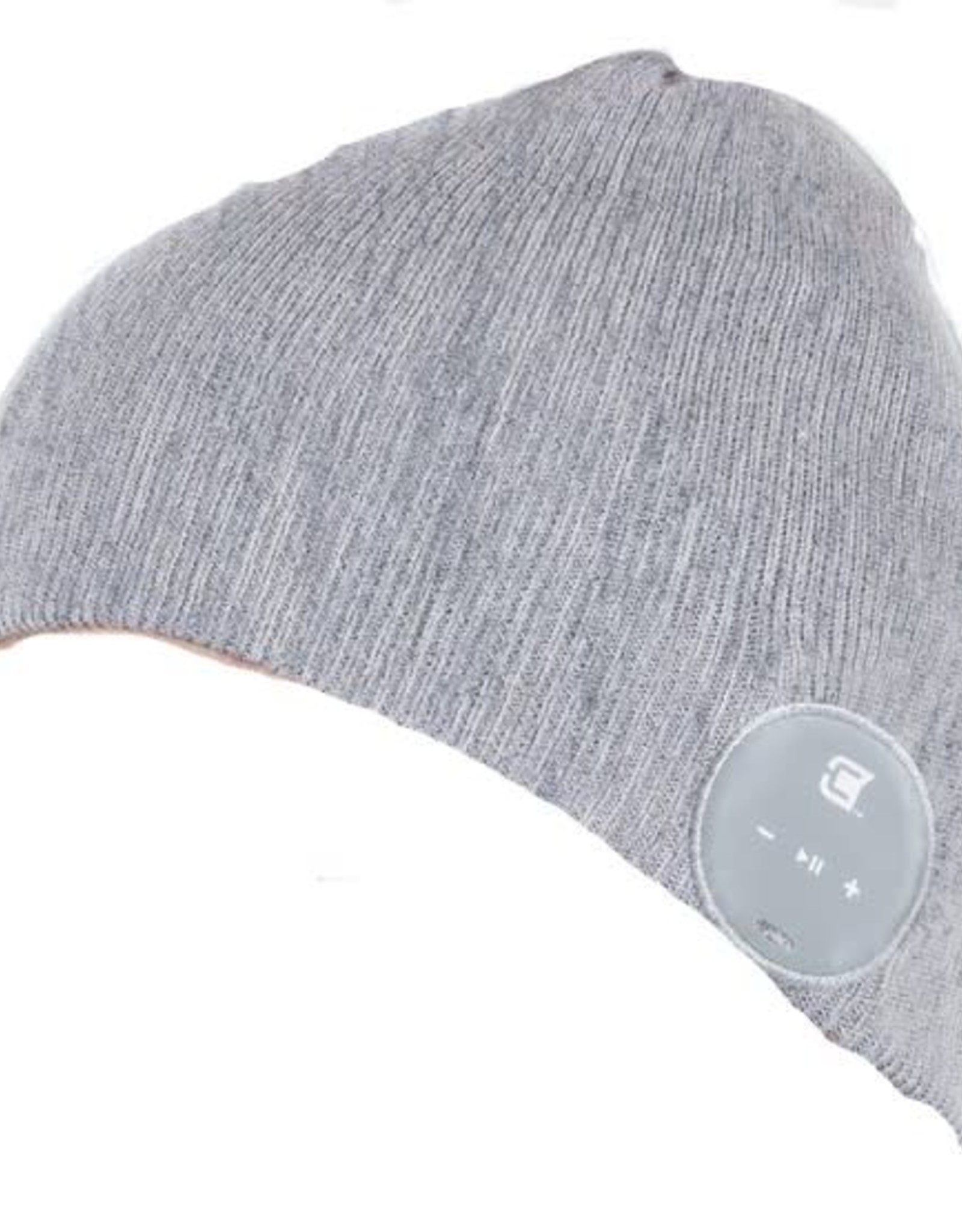 Caseco Caseco | Blu-Toque Slim Bluetooth Beanie - Ash Grey | C54BT02