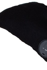Caseco Caseco | Blu-Toque Slim Bluetooth Beanie - Charcoal Black | C54BT01
