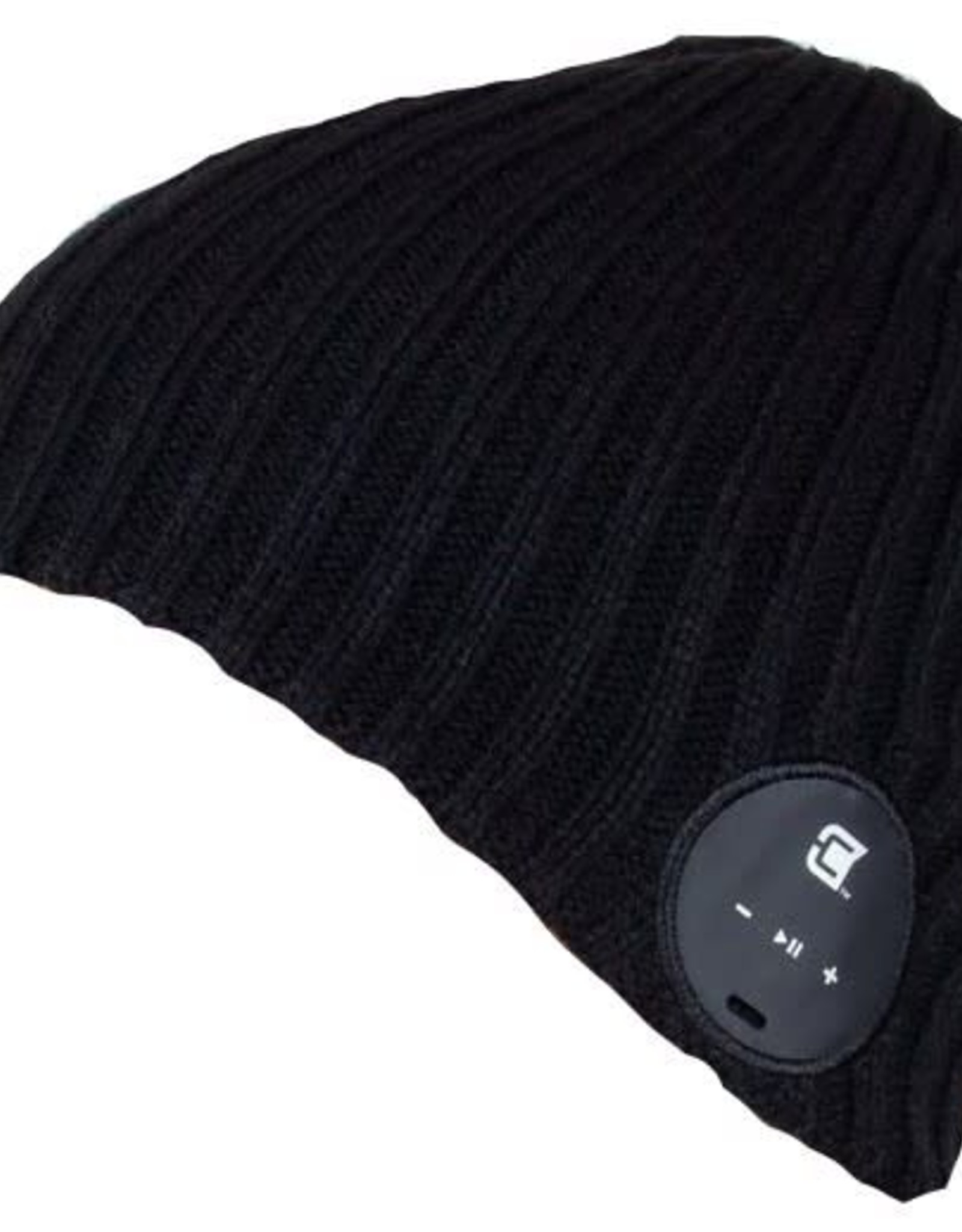 Caseco Caseco | Blu-Toque Wide Ribbed Bluetooth Beanie - Charcoal Black | C53BT01
