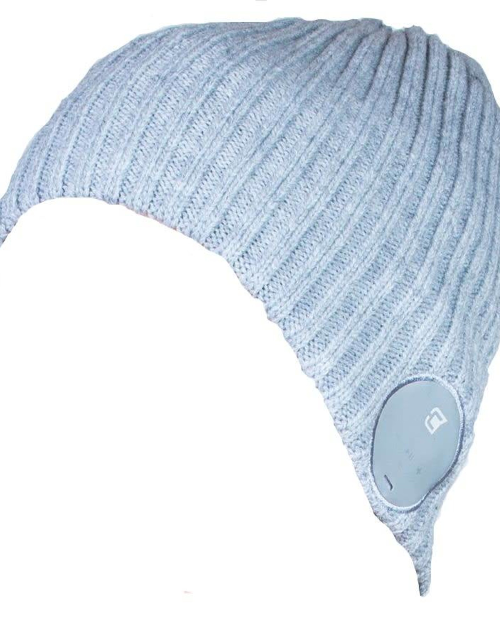 Caseco Caseco | Blu-Toque Wide Ribbed Bluetooth Beanie - Ash Grey | C53BT02