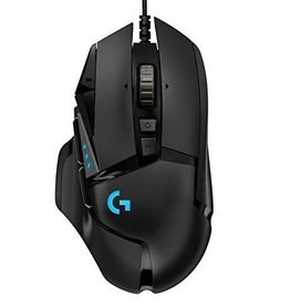 Logitech Logitech | G502 Hero 16000 DPI Optical Gaming Mouse - Black 910-005469