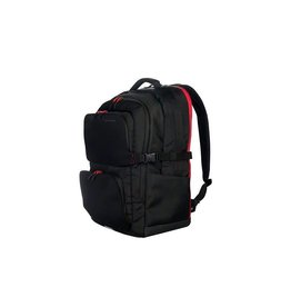Tucano SFIDO Backpack for Gaming Laptops Up to 18 In - Black/Red BSFBK-BK