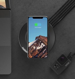 Nomad | Wireless Charging Hub 7.5W Black 116-0012