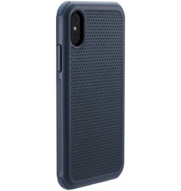Just Mobile | iPhone X/Xs Quattro Air Case Blue-Grey | PC-288BL