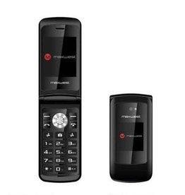 Maxwest | Vice 3G Flip Phone Black | MWVICE3GBK
