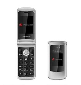 MaxWest Maxwest | Vice 3G Flip Phone Silver | MWVICE3GSV