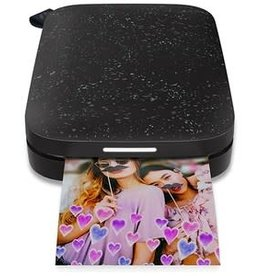 HP HP | Sprocket 2nd Gen Photo Printer Black Noir | 1AS89A#B1H