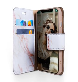 Caseco Marble Wallet Folio Case for iPhone XR Gold