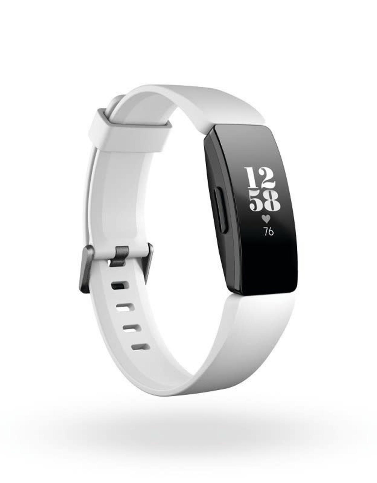 Fitbit /// Fitbit | Inspire HR White/Black | FB413BKWTFRCJK
