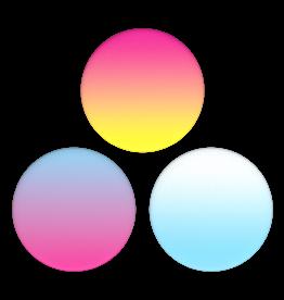 Popsockets PopSockets | PopMini Sunset Rainbow | 115-1851