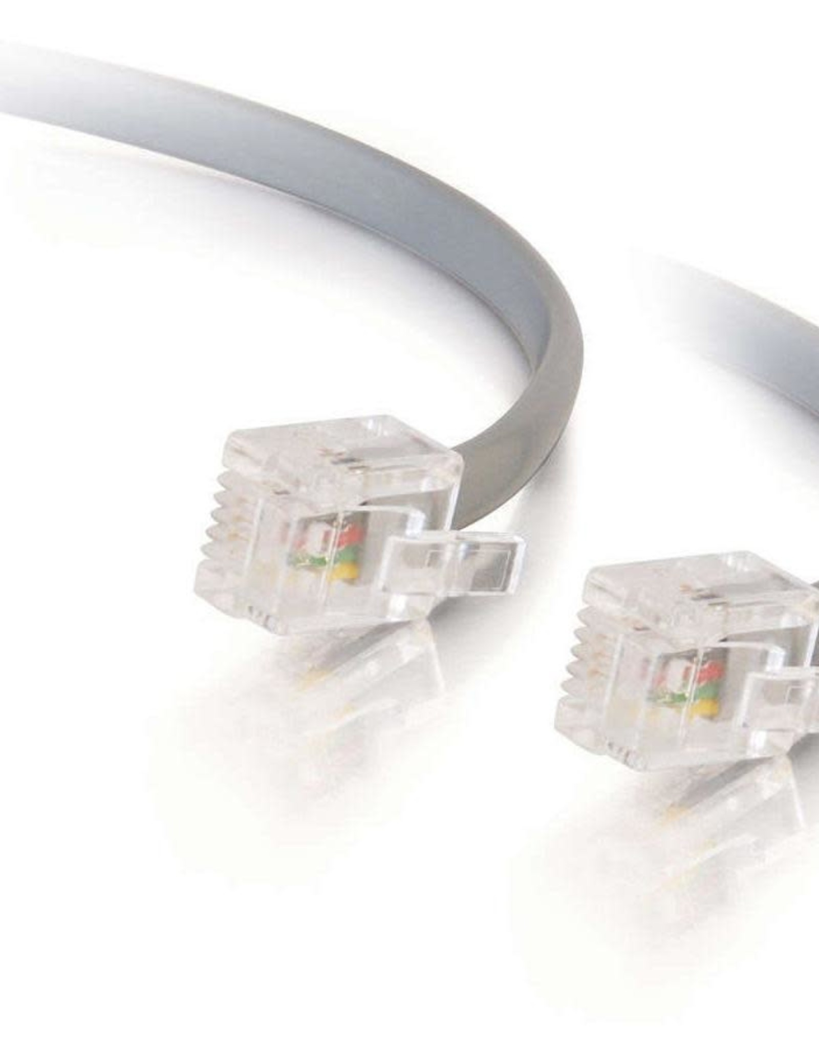 C2G (Cables To Go) C2G RJ12 25FT MODULAR TELEPHONE CABLE 08133