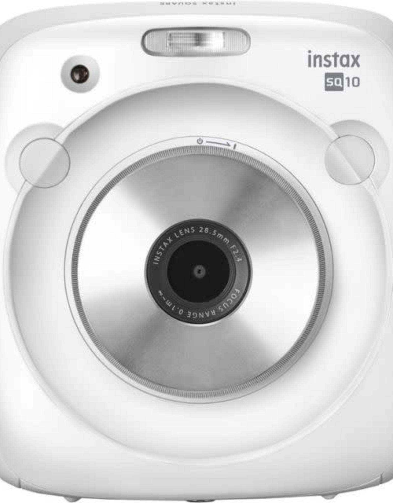 Instax Fujifilm INSTAX SQUARE SQ10 Hybrid Instant Camera White 6069763