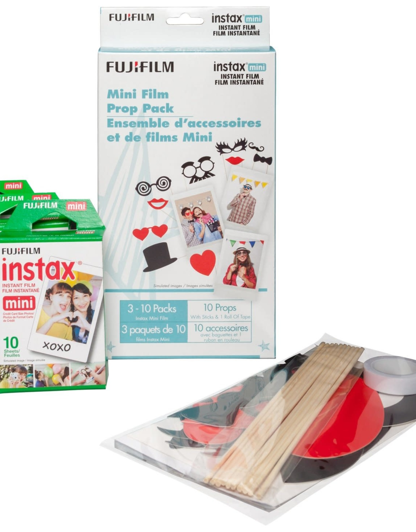 Fujifilm Fujifilm | Instax Mini Instant Film Party Prop Pack 600018639