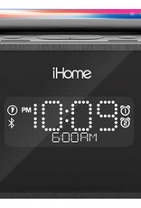iHome iHome   Bluetooth Stereo Speaker with Wireless Fast Charge Black 115-1723