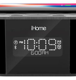 iHome iHome | Bluetooth Stereo Speaker with Wireless Fast Charge Black 115-1723