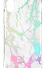 Caseco Holographic Fremont Marble Tough Case - iPhone XR White C2661-00