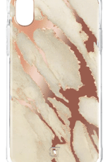 Caseco Caseco | iPhone XR Holographic Fremont Marble Tough Case Rose Gold | C2661-09