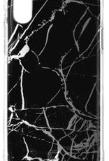 Caseco Caseco   iPhone XR - Holographic Fremont Marble Tough Case Black   C2661-01