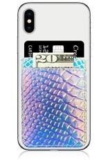 /// iDecoz | Hologram Snakeskin Faux Leather Pocket | HS267C