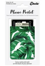 /// iDecoz | Banana Leaf Faux Leather Pocket | BL616C