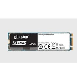 Kingston Kingston | Solid State Drive 480GB A1000 PCI Express Gen3x2 NVMe (M.2 2280) SA1000M8/480G