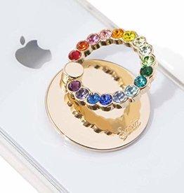 Sonix Phone Rings Rainbow Rhinestone SX-566-0002-0011