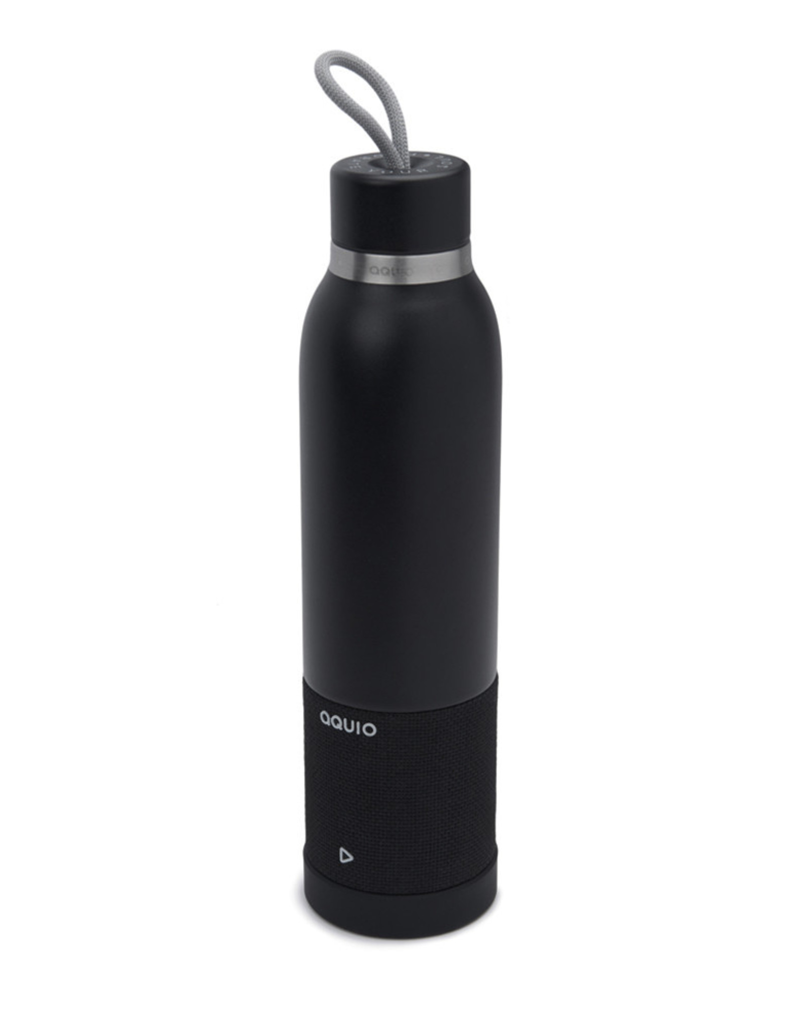iHome iHome - Steel Insulated Bottle with Rechargeable Bluetooth Speaker Midnight 115-1951