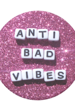 Popsockets //// Popsockets | PopGrip (Complete Swappable PopGrip) Anti Bad Vibes 115-1864