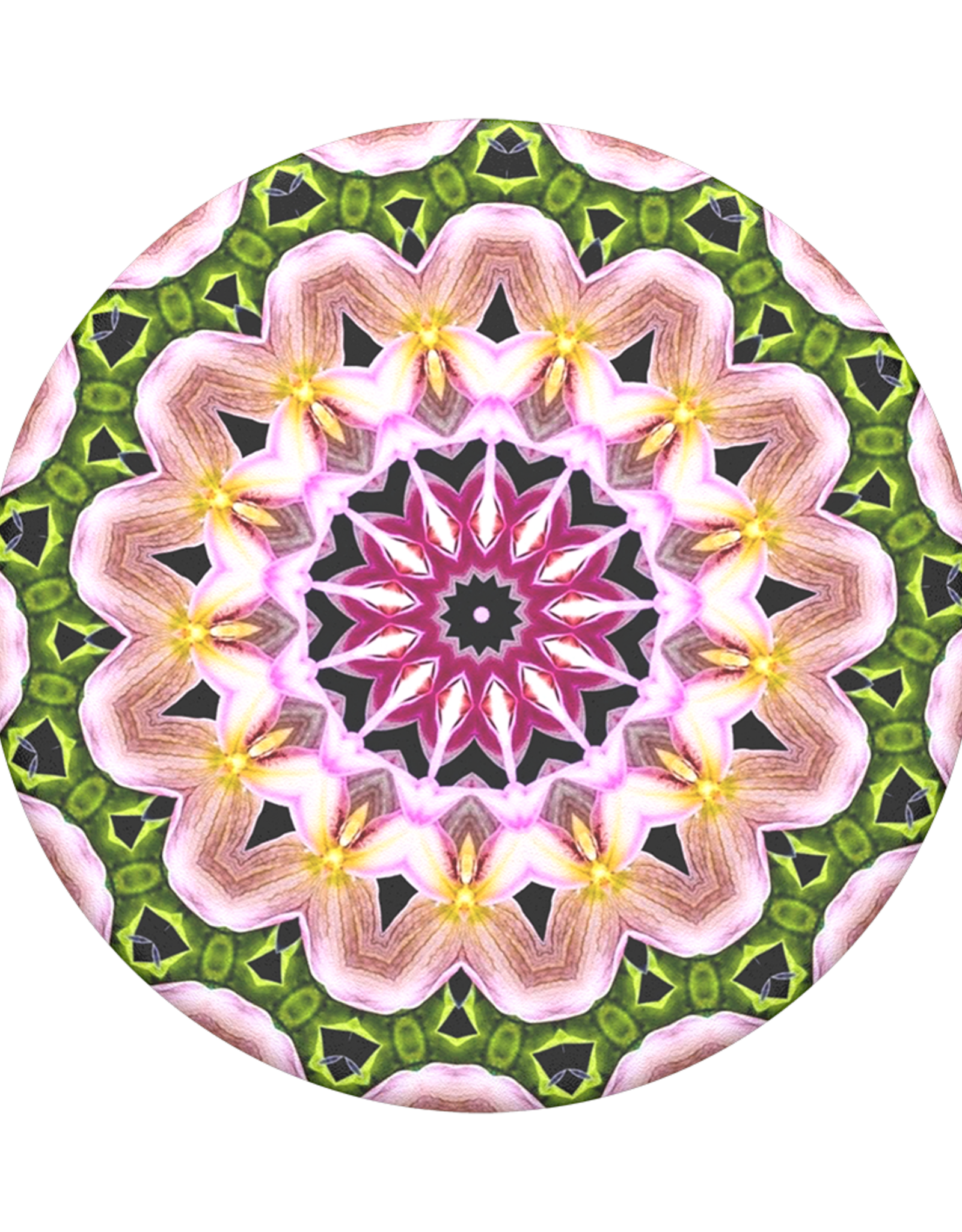 Popsockets Popsockets | PopGrip (Complete Swappable PopGrip Orchid Mandala | 115-1890