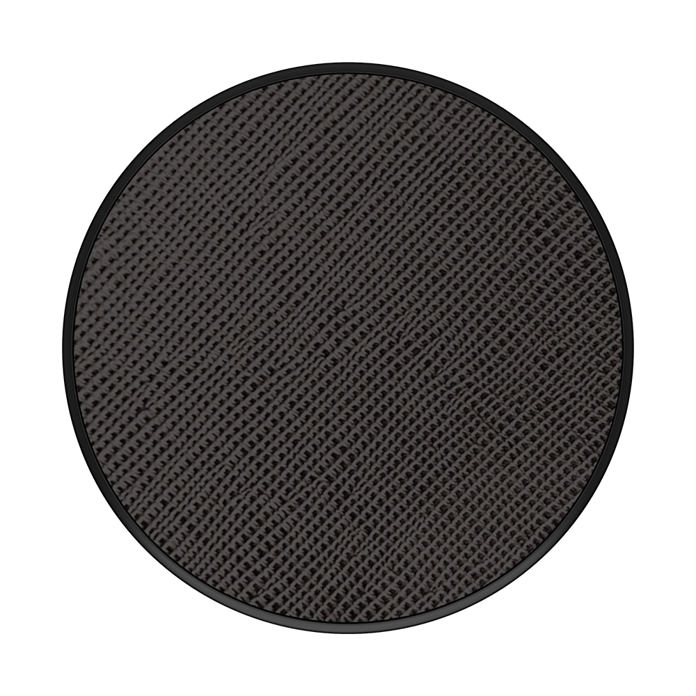 Popsockets PopSockets | PopGrip (Complete Swappable PopGrip) Saffiano Black 115-1897