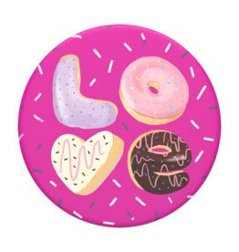 Popsockets PopSockets | PopGrip (Complete Swappable PopGrip) Love Donut 115-1881