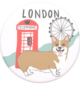 Popsockets PopSockets | PopGrip (Complete Swappable PopGrip) London | 115-1880