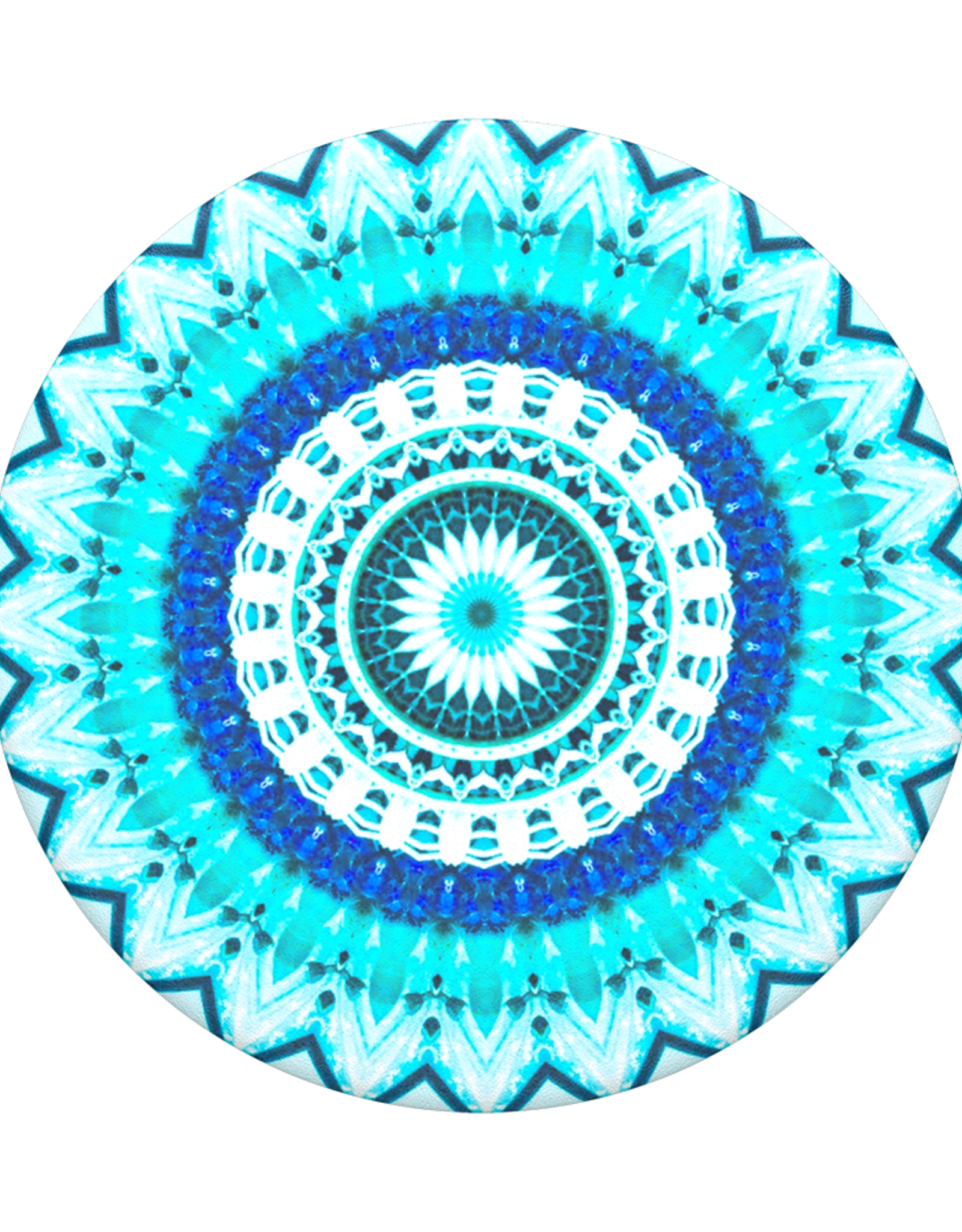 Popsockets PopSockets | PopGrip (Complete Swappable PopGrip) Blue Floral Mandala 115-1866