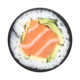 Popsockets PopSockets | PopGrip (Complete Swappable PopGrip) Salmon Roll 115-1899