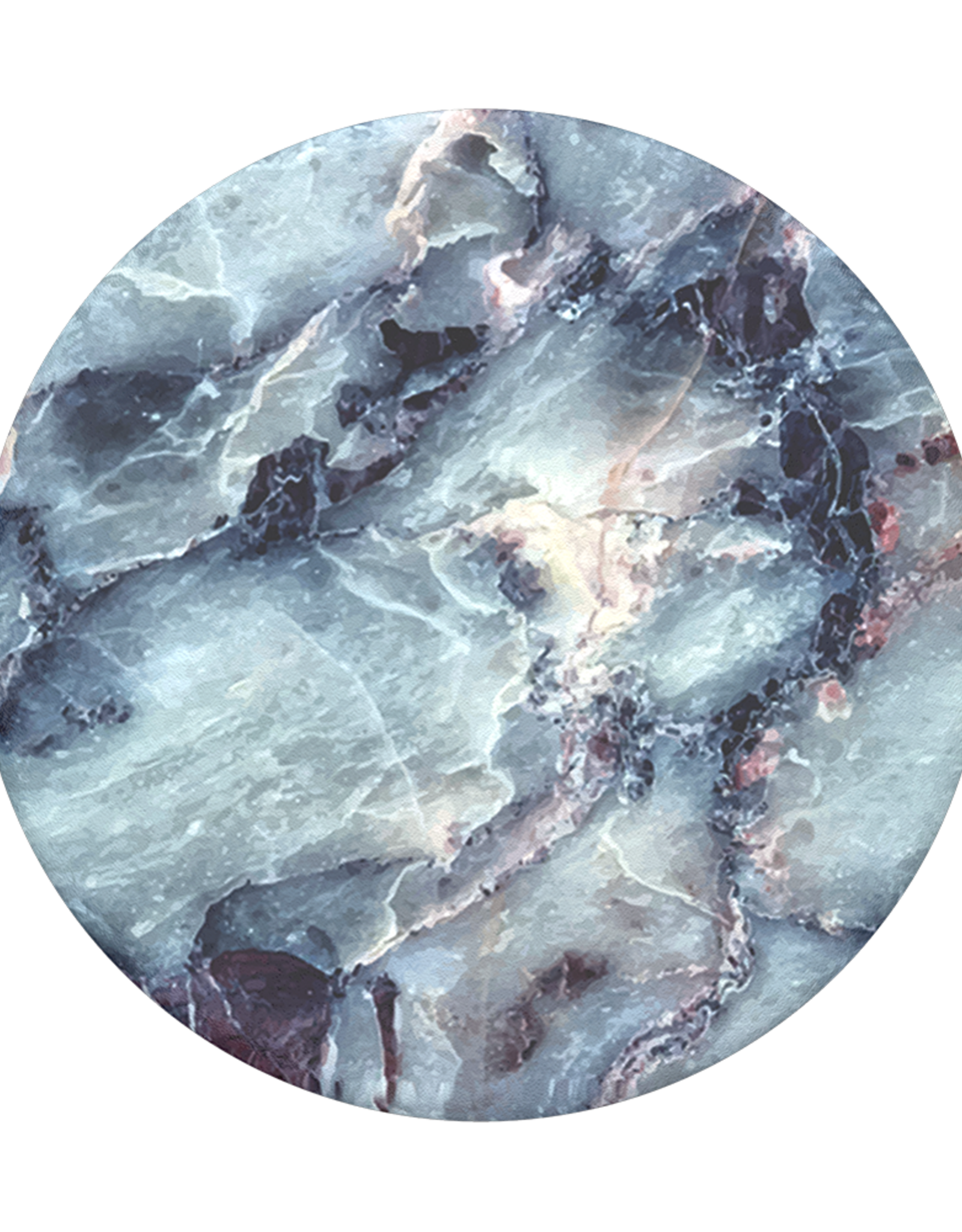 Popsockets PopSockets | PopGrip (Complete Swappable PopGrip) Blue Marble | 115-1868