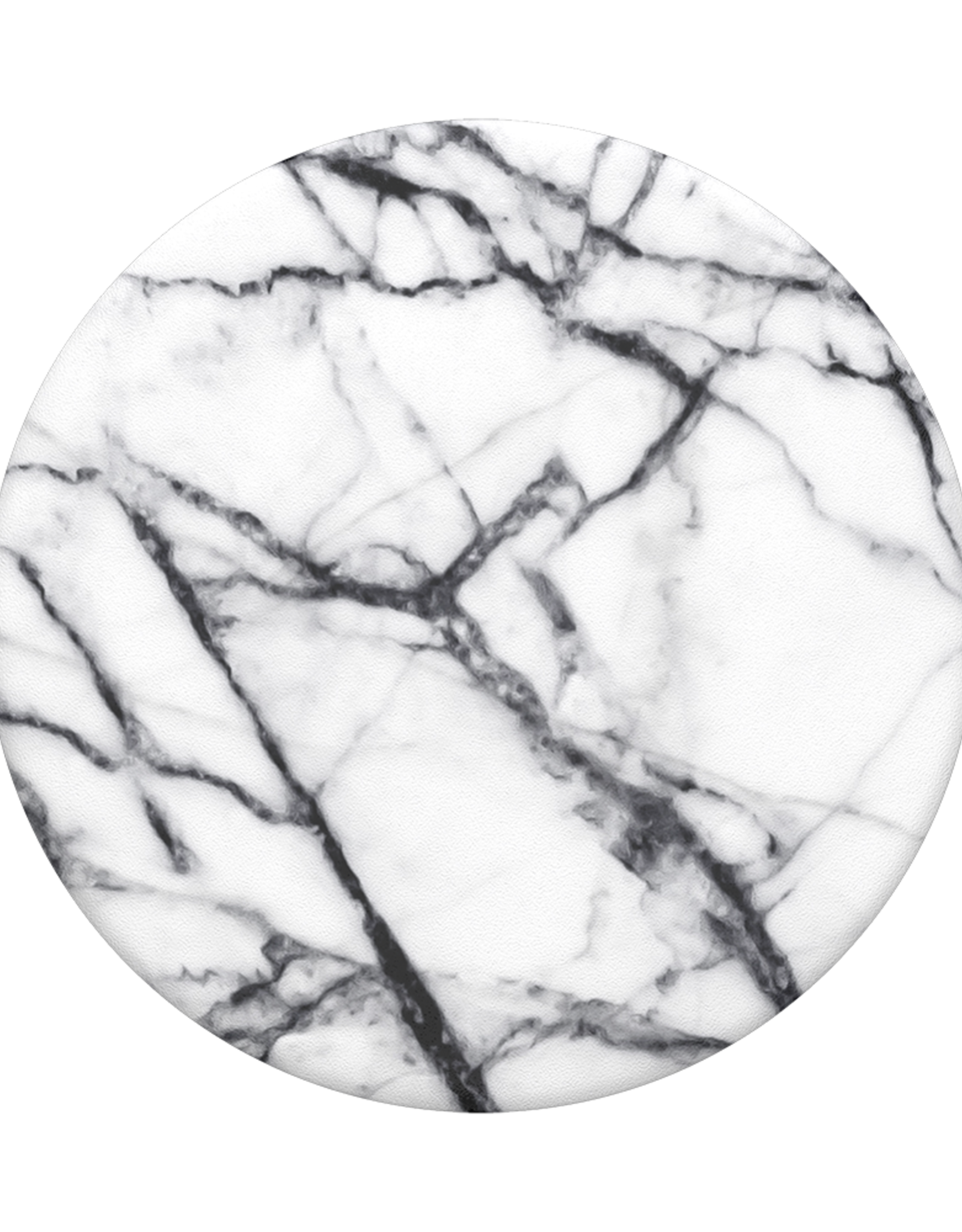 Popsockets PopSockets    PopGrip (Complete Swappable PopGrip Dove White Marble   115-1874