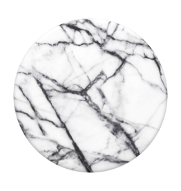 Popsockets PopSockets |  PopGrip (Complete Swappable PopGrip Dove White Marble | 115-1874