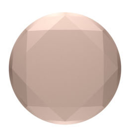 Popsockets PopSockets | PopGrip (Complete Swappable PopGrip) Metallic Diamond Rose Gold 115-1884